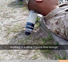 It's called improvisation, and the Marine Corps prides itself on it.  Via The Salty Soldier