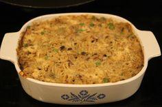 Gluten Free/ Dairy Free Tuna noodle casserole