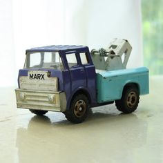 Vintage Marx Tow Truck
