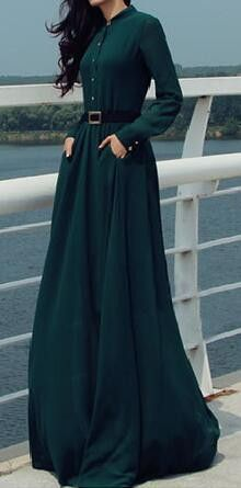 Details: Occasion: Day Dress, Going Out Front bottons Long sleeve Belt is not contained Material:Polyester Regular wash Free Shipping ! We accept Paypal. SIZE(IN/CM) US BUST SLEEVE LENGTH S 2 34.6'' 8