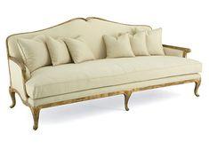 Open Fret Camel Back Sofa  Brand: Christopher Guy