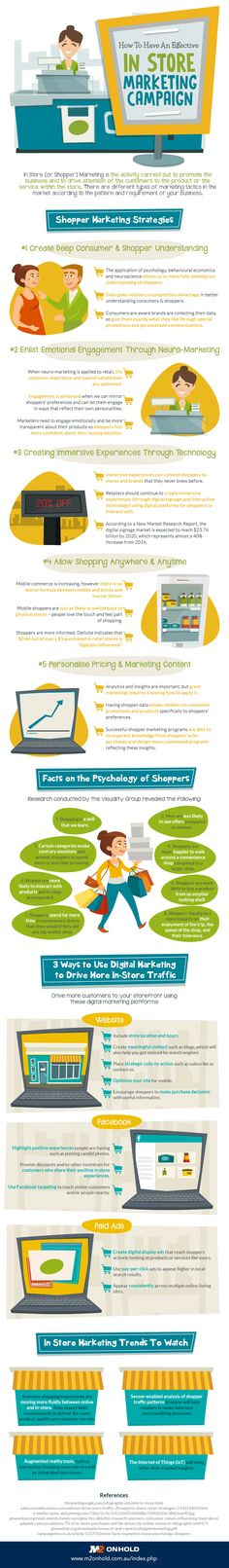 Are you doing the best job that you can with your in-store marketing? Do you stand out from competitors (including online competitors)? Consider the tips in the infographic below fromM2 on Hold. &…