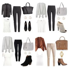Capsule Outfits, Fashion Pics, Collage, Clothing, Polyvore, Closet, Image, Kleding, Outfits