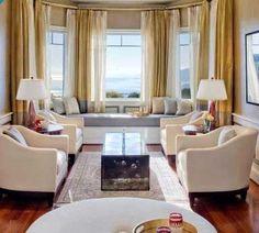 Elegant Bay Window Coverings
