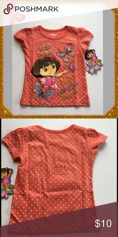 Dora The Explorer T-Shirt Sweet Dora The Explorer t-shirt,  100% Cotton Nickelodeon Shirts & Tops Tees - Short Sleeve