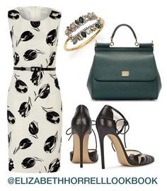 LIZ by elizabethhorrell on Polyvore featuring мода, Precis Petite, Dolce&Gabbana and Alexis Bittar