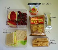 easy sack lunches for kids