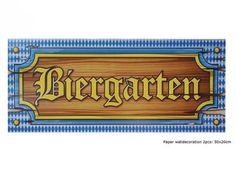 Oktoberfest Papierschilder Biergarten Wiesn Bayern Party Deko Tischdekoration
