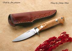 Handmade knife.