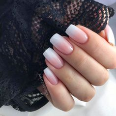 Best Ideas How To Do Ombre Nails Designs + Tutorials+ Best Ideas How To Do Ombre Nails Designs + Tutorials 25 amazing winter nail art designs 2019 ideas page 44 Polygel Nails, Gradient Nails, Pink Nails, Cute Nails, Simple Acrylic Nails, Best Acrylic Nails, Stylish Nails, Trendy Nails, Nagellack Design