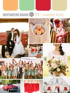 Inspiration for summer weddings!