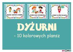 Archiwa: Do pobrania - Pani Monia Teaching, How To Plan, Education, Comics, Kids, Preschool Ideas, Management, Therapy, School