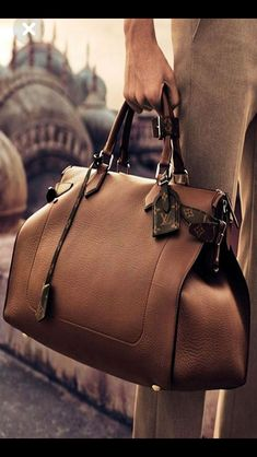 From the Louis Vuitton Men s Spring 25 campaign comes a soft-sided bag in  timeless leather bbd29569a48a7