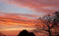 Sonnenaufgang am 4. Advent