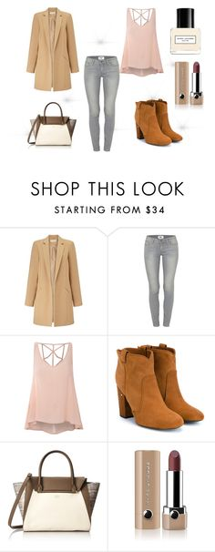 """""""Untitled #2"""" by arnes-zabic ❤ liked on Polyvore featuring Miss Selfridge, Paige Denim, Glamorous, Laurence Dacade, Vince Camuto and Marc Jacobs"""