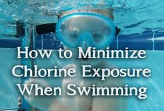 Chlorine is often used in swimming pools but use of chlorine and related chemicals is linked to various health problems. Use Vitamin C and protective lotion to reduce your exposure.