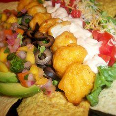 Mango Habanero Taco Salad