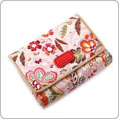 Stilvolle und romantisch schöne Geldbörse von Oilily aus der neuen Kollektion Summer Blossom.