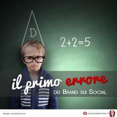 Impariamo per imitazione, dicono. Lo fanno anche i Brand sui Social. E sbagliano. E pure tanto.
