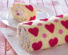 Hearts Patterned Swiss-Roll Cake - Something Sweet-Winnie's blog