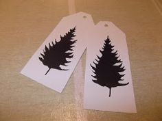Tags From Recycled Cards | AllFreeChristmasCrafts.com