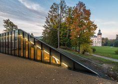 5osA: [오사] :: *선큰 커뮤니티 센터 [ Petr Hájek ] Concrete education centre_sunken into a park landscape