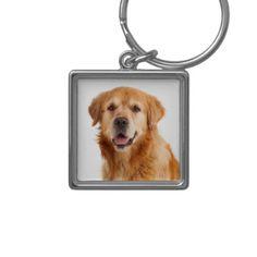 Love Golden Retriever Puppy Dog Keychain - accessories accessory gift idea stylish unique custom