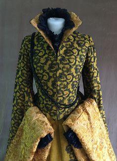 Mode Renaissance, Renaissance Costume, Renaissance Dresses, Tudor Costumes, Period Costumes, Elizabethan Dress, Vintage Dresses, Vintage Outfits, Tudor Fashion