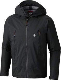 Keep this jacket in your pack or on your body for high-altitude adventures. The durable Mountain Hardwear Quasar Lite II jacket offers waterproof breathable protection and a helmet-compatible hood. Running In The Rain, Op Logo, Outdoor Wear, Mountain Hardwear, Best Investments, Waterproof Fabric, Jackets Online, Rain Jacket, Windbreaker