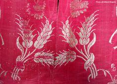 Festivals 2015, Historian, London England, Open House, Silk Dress, Bbc, Detail, Pattern, Silk Gown