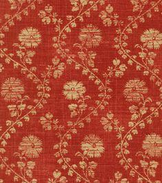 Home Decor Upholstery Fabric-Waverly Hide-N-Seek / Poppy: home decor fabric: fabric: Shop | Joann.com