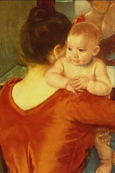 """Renoir """"Mother and Child"""""""
