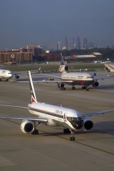 Hartsfield Jackson Airport, used to go here just for fun and watch the planes land and take off.