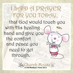 A prayer for my friends