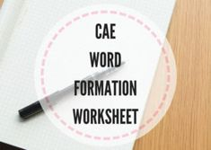Here're some exam practice exercises which help your students improve their score in the word formation part of the Cambridge Advanced exam. Cambridge Advanced, Cambridge Exams, Word Formation, English Exam, Teaching Tips, Lesson Plans, Worksheets, Digger, Writing