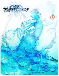 Turquoise   Aqua   art   Kingdom Hearts