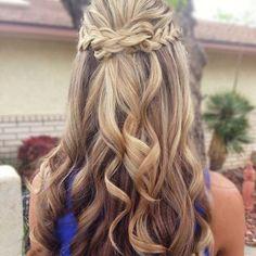 #hair#hairstyle#hairfashion#braid#hairbraid#curl#curly#braidcurl#blond#haircolor