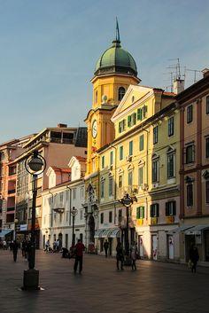 Rijeka, Croatia  | by © de marcos | via fyeaheasterneurope