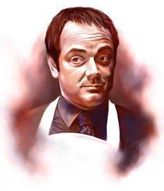 Mr Crowley by rivertem.deviantart.com on @deviantART