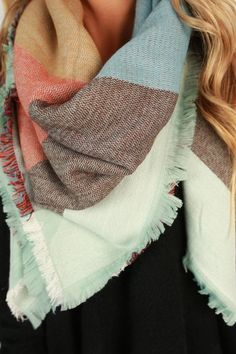fe44bc65ed64 60 best scarfs images on Pinterest in 2018   Scarves, Plaid blanket ...