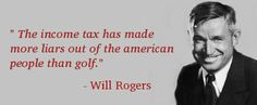 Will Rogers Quote about income tax.   #taxes #accounting