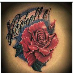 #rose #names #lettering #vibrantcolors #customink #blackink #orlando