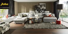 Sitzgarnitur JOKA Delizia 1 Couch, Sofas, Furniture, Home Decor, Homes, Settee, Room Decor, Settees, Couches