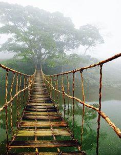 Bridge in Sapa, Vietnam