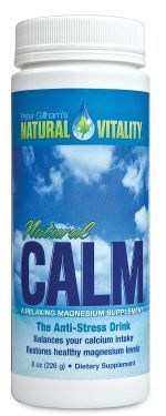 Natural Calm, works so well. helps you sleep. Reduces stress, helps muscle tightness. Helps constipation too.