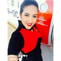 Lindíssima comissária Kamila, super fofa. Sucesso ❤✈ #crewlife #future #flightattendant #aeromoça #stewardess #aeromoças #comissáriadebordo #comissárias #avianca #fly #revistatripulante #aero  #tripulantes #thinkredavianca #aviacaocms #aviancaemrevista #comissariadevoo #aviancabrasil