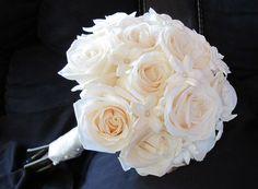 Vendela roses and stephanotis...very pretty!!  @Audra Wruth