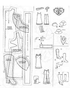 Mimin Dolls: Barbie Clothes - Cowgirl Dress and Boots FREE Pattern!!!