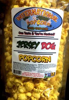 REVIEW: International Popcorn - Jersey Dog