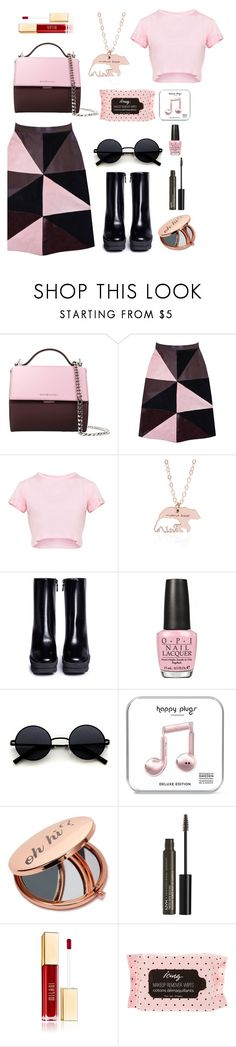 """Untitled #37"" by mvarun74 ❤ liked on Polyvore featuring Givenchy, Florence Bridge, STELLA McCARTNEY, OPI, Miss Selfridge and NYX"